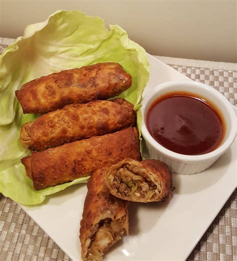 fryer air egg rolls york shrimp pork recipes airfryer frying rice cooking croquettes salmon