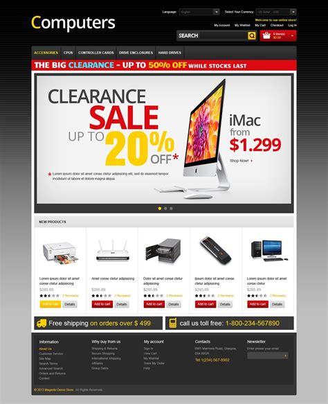 la mejor tienda template drupal tema magento 42427 para sitio de tienda de ordenadores