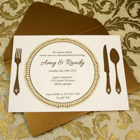 Create dinner party invitation save the date rsvp card