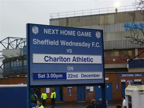 Sheffield Wednesday - Hillsborough Stadium - Chapalar's ...