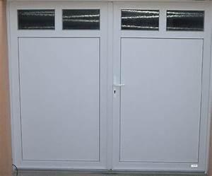 Porte double vantaux exterieure dthomas for Porte de garage coulissante et porte d interieur double vantaux