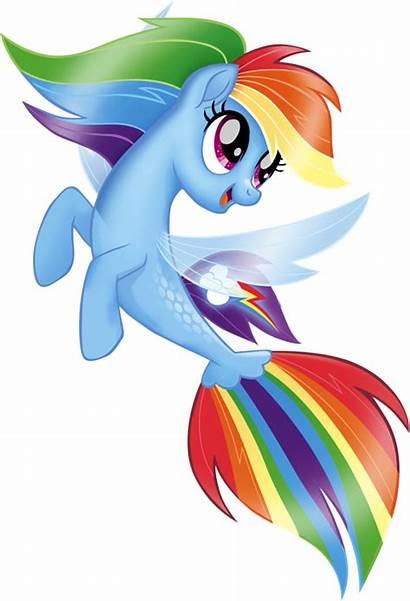 Pony Dash Rainbow Seapony Sea Ponies Mlp