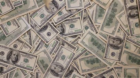 money falling background hd 4k stock footage 22760323