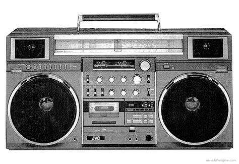 jvc rc  manual  band stereo radio cassette recorder hifi engine