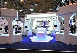 Panasonic exhibition stand at IFSEC - stand design by ...