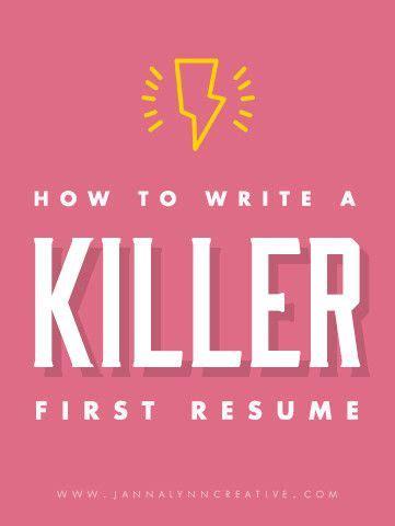 How To Write A Killer Resume by How To Write A Killer Resume Feminine