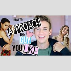 How To Approach Someone You Like! Youtube