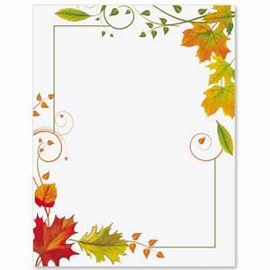 Fall Freshness Border Papers   invitations   Borders for ...
