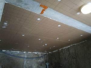 Isoler Plafond Sous Sol : isolation sous sol pour 1 euro chateauneuf de rhone sp cialiste de l 39 isolation de combles ~ Nature-et-papiers.com Idées de Décoration