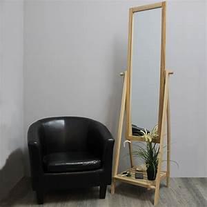 Holz Spiegel Mit Ablage : standspiegel mit ablage h174cm ganzk rperspiegel ankleidespiegel stehend holz ebay ~ Indierocktalk.com Haus und Dekorationen