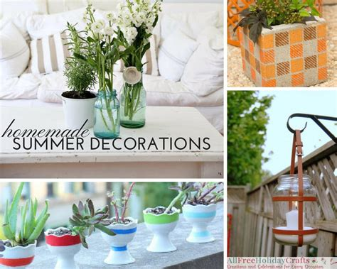 Home Made Decor by 28 Decorations For Summer Diy Outdoor Decor And