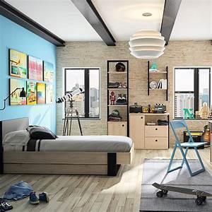 Chambre Garcon 5 Ans : 10 ambiances pour une chambre de petit gar on blog but ~ Melissatoandfro.com Idées de Décoration