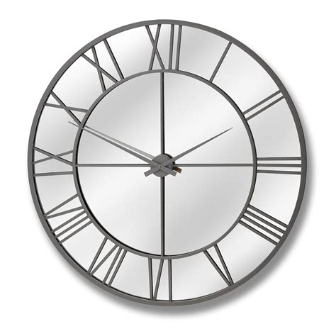 outdoor mirrored wall clock from baytree interiors