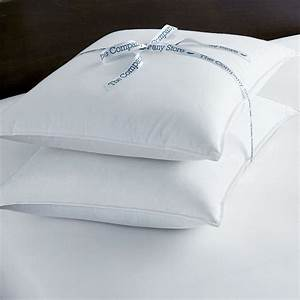 Tcsr down freetm pillow 2 pack the company store for Company store down pillows