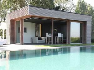 Pool House Toit Plat : poolhouse optez pour du sur mesure veranclassic ~ Melissatoandfro.com Idées de Décoration