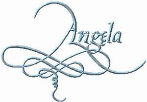 Pin The Name Angela In Graffiti on Pinterest