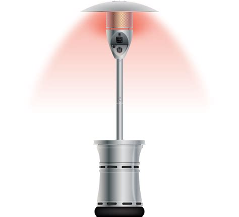 the halo patio heater by outdoor order outdoor order