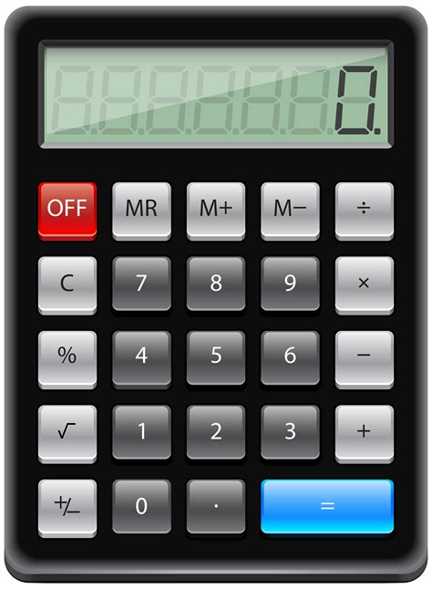 Calculator PNG Clip Art - Best WEB Clipart