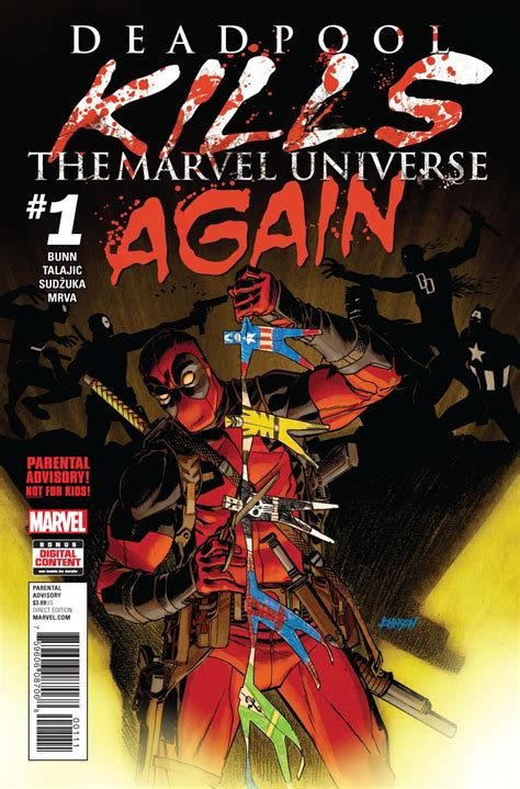 Deadpool Kills the Marvel Universe Again #1 | Punisher Comics