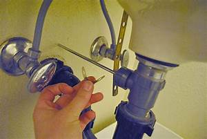How To Replace Or Maintain A Sink Pop Up Drain Assembly