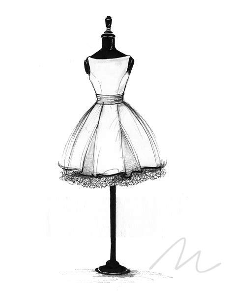 blithe dress sketch pinteres
