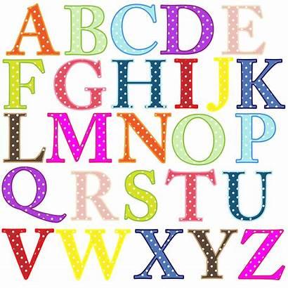 Alphabet Dot Whole Polka Alphabets Numbers Upper