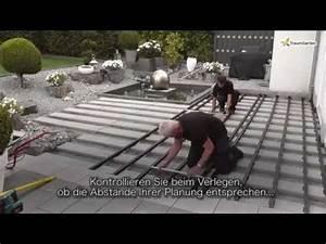 Terrassen Unterkonstruktion Alu Abstand : dreamdeck wpc verlegen der alu unterkonstruktion 2von5 youtube ~ Yasmunasinghe.com Haus und Dekorationen