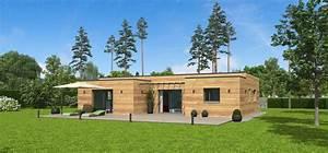 terrasse toit plat terrasse en bois With maison en bois toit plat