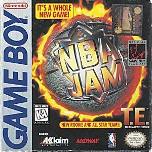 nba jam tournament edition nintendo game boy game