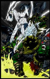 Hulk vs Silver Surfer by Ta2dsoul on deviantART