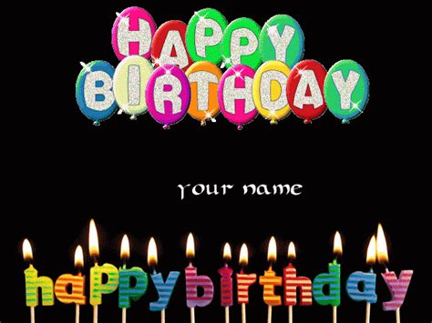 My Name Animation Wallpaper - happy birthday animation images with name happy birthday bro
