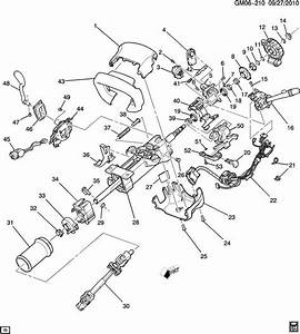 2002 Chevrolet Silverado 2500 Spring  Steering Column