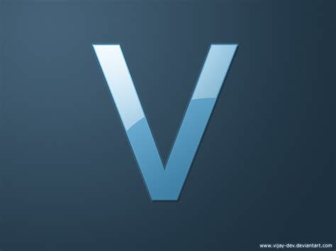 V.logo By Vijay-dev On Deviantart