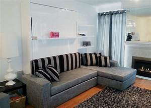 murphysofa sectional wall bed float expand furniture With wall bed sofa conversions