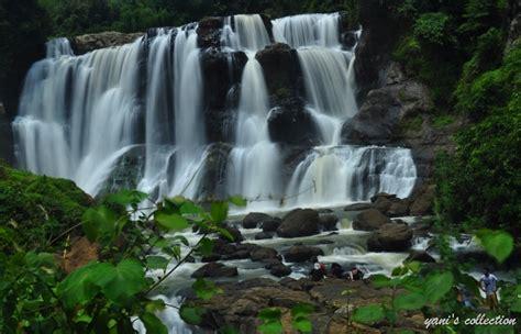 foto air terjun terindah  tertinggi  indonesia