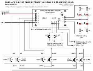 Can Anyone Get Me The Circuit Diagram Of Automatic Railway