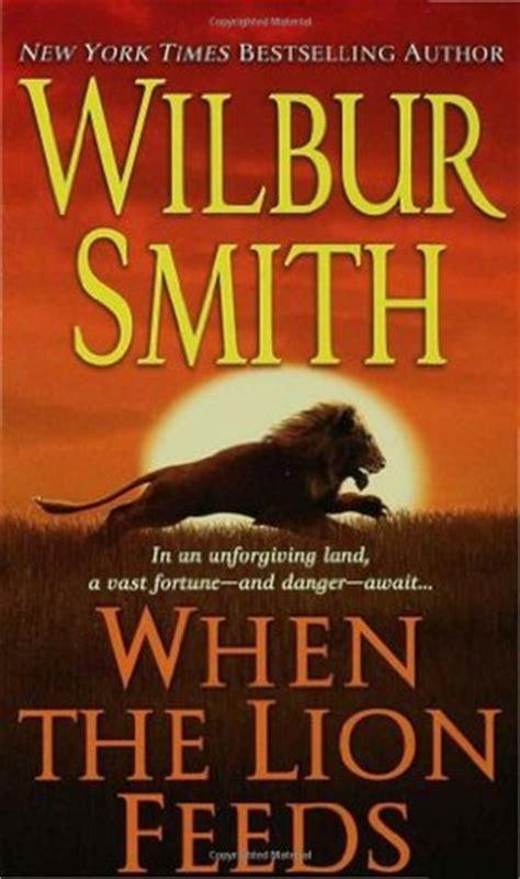 lion feeds courtney   wilbur smith