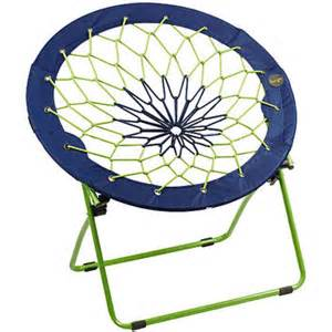 bunjo team bungee chair blue lime green from sports authority