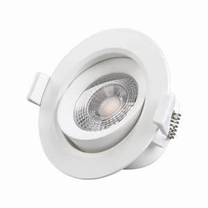 Spot Led Encastrable Plafond : spot led plafond 7 watt 4000 k boite ~ Dailycaller-alerts.com Idées de Décoration