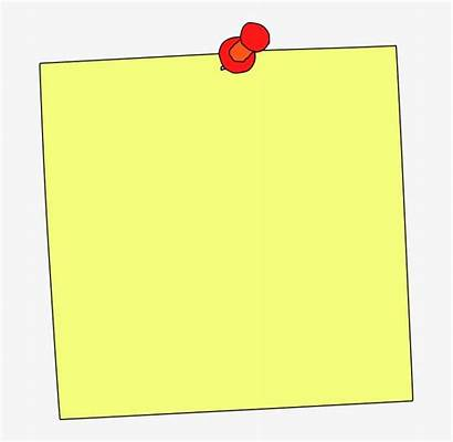 Note Sticky Reminder Clipart Paper Memo Education