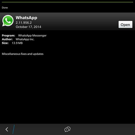 new whatsapp update in blackberry beta blackberry forums at crackberry