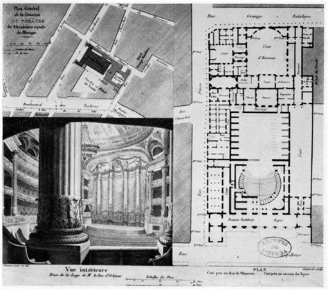 10 best images about opera garnier floor plans on architecture church and