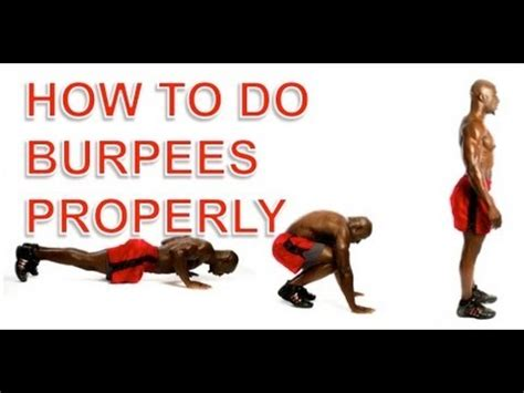 How To Do A by Burpees How To Do Burpees And Avoid Common Injuries