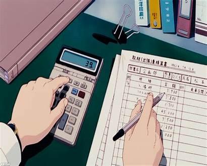 Aesthetic Anime Gifs Study 90s Studying Retro