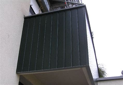 Balkonverkleidung Aus Kunststoff by Wartungsarme Balkonverkleidung Aus Kunststoff