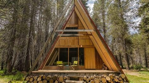 yosemite cabin rentals this remote a frame retreat is the yosemite cabin