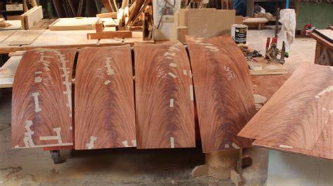 crotch mahogany  cocobolo veneer table youtube