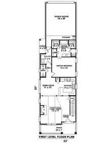 narrow home floor plans narrow house plans with garage cottage house plans