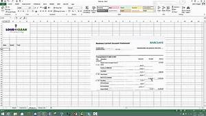 how to do a bank reconciliation on excel youtube With bank reconciliation template xls