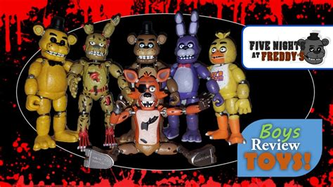 Five Nights At Freddy's Action Figure Unboxing & Review